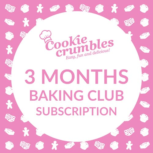 Cookie Crumbles baking club 3 month subscription
