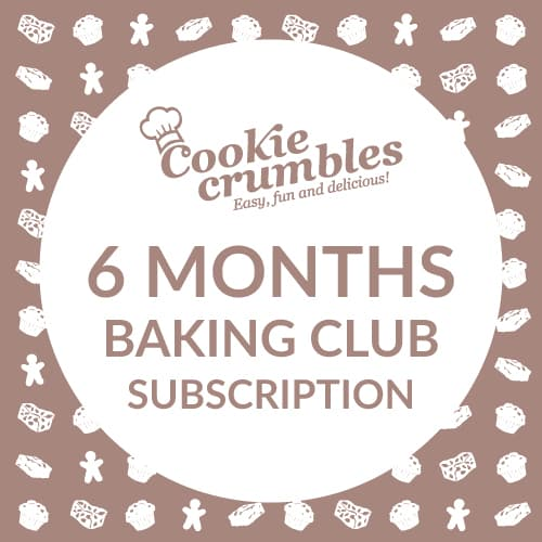 Cookie Crumbles baking club 6 month subscription