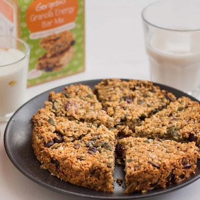 Cookie Crumbles granola energy bars