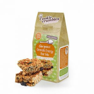 Cookie Crumbles granola energy bar mix box and bars