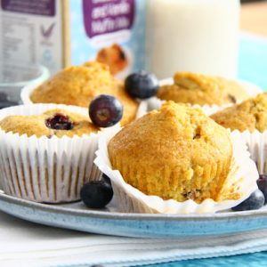 Cookie Crumbles blueberry muffins