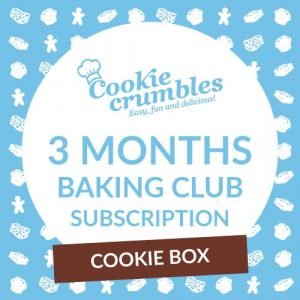 Cookie Crumbles Cookie Box subscription promotion
